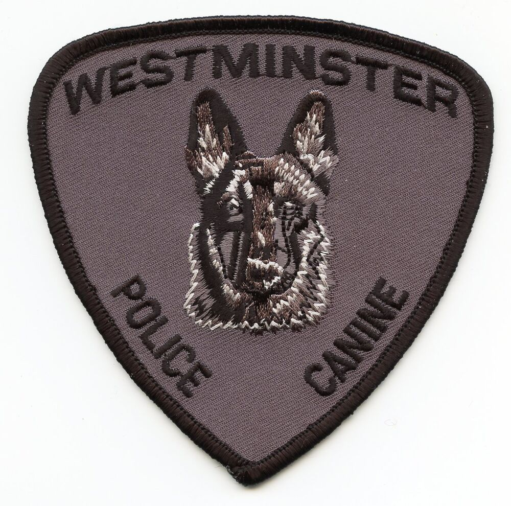 police k9 patches eBay