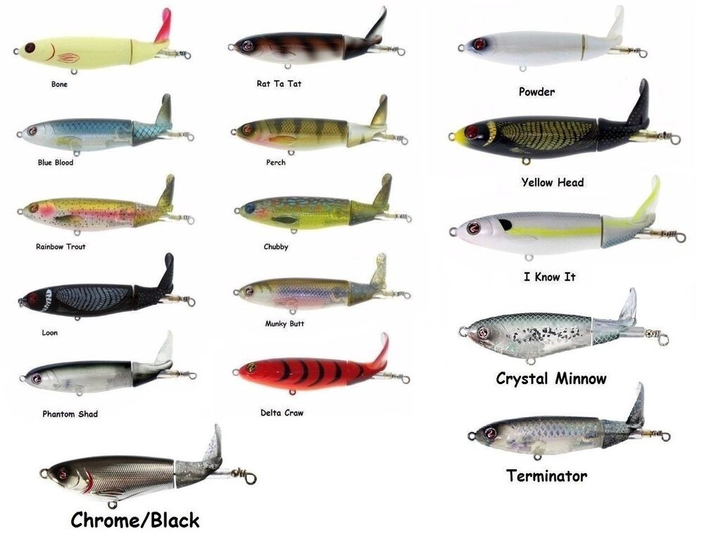 River2sea whopper plopper 130 topwater bait assorted for Best lures for river fishing