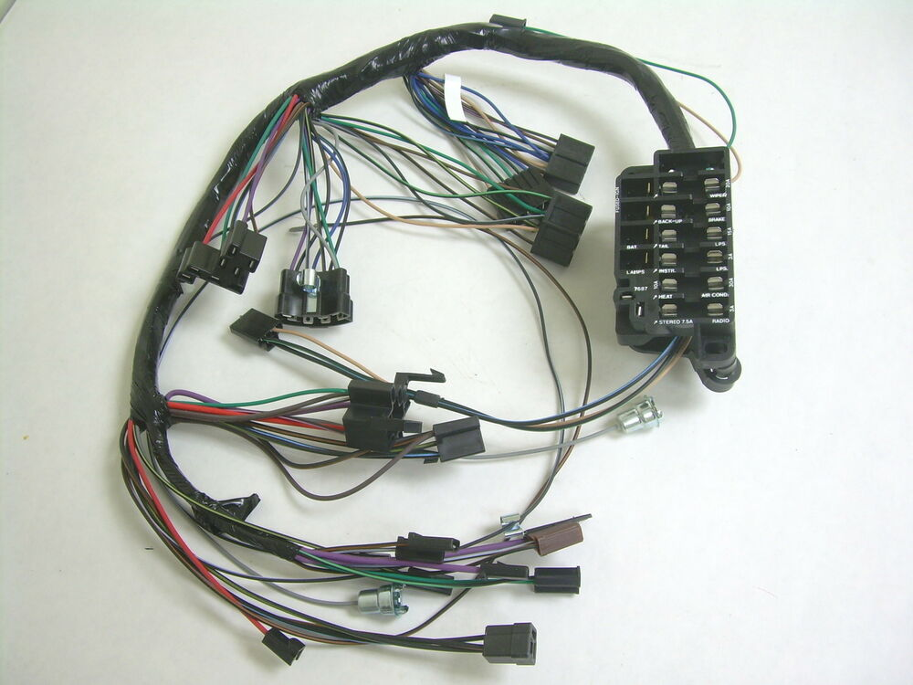 08 chevy impala radio wiring harness 1964 64 chevy impala ss under dash wiring harness with ...