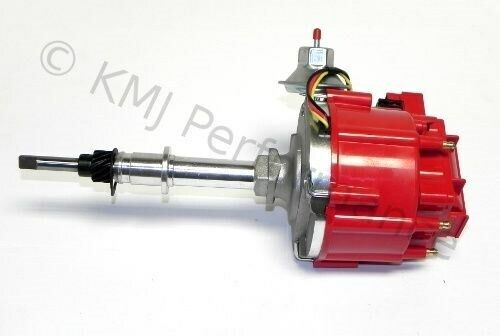 Chevy 250 Inline 6 New Chevy Late Inline 6 Cylinder Six HEI Distributor 230 250 292 Red ...
