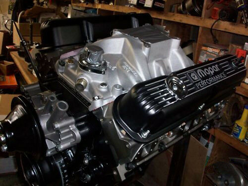mopar 340 block mopar 340 360 dodge 408 416 stroker crate motor long block la heads shaft rocker