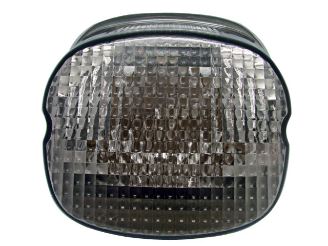 Smoke Lens Led Tail Brake Light For Harley Touring Road