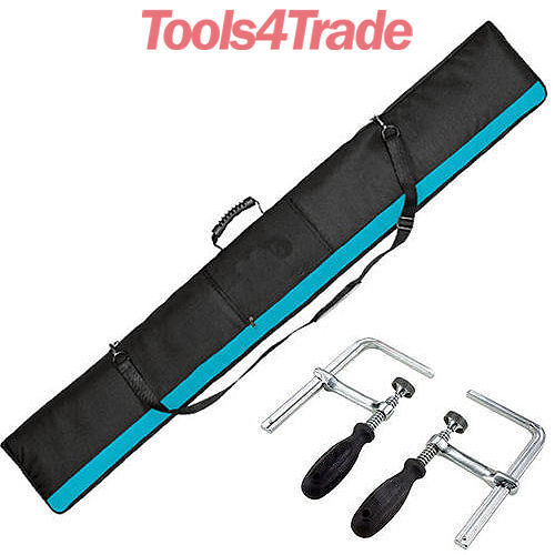 Tools 4 Trade >> Excel Plunge Saw SP6000 Pair of Clamps & Guide Rail Bag 1.4m Rails for Makita | eBay