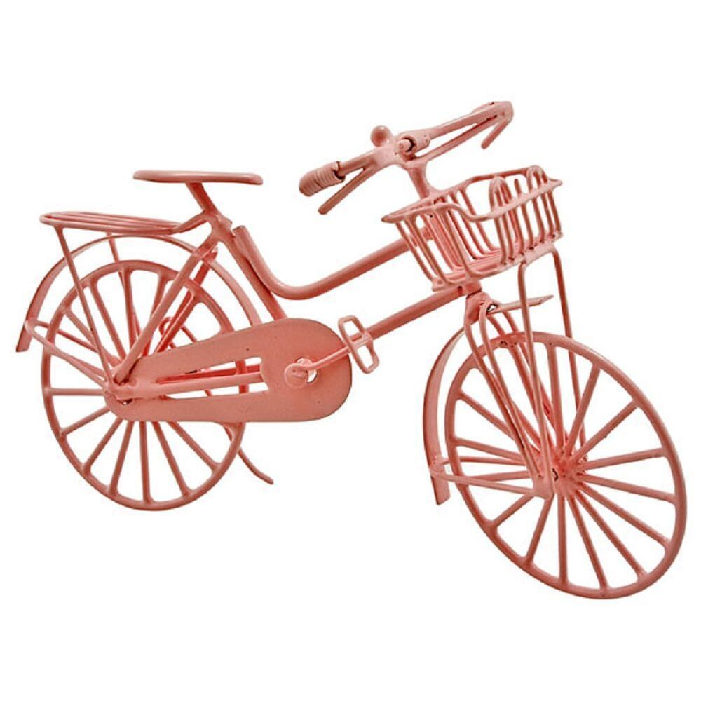 Pink Metal Wire Cycling Bicycle Bike 1 12 Doll S House