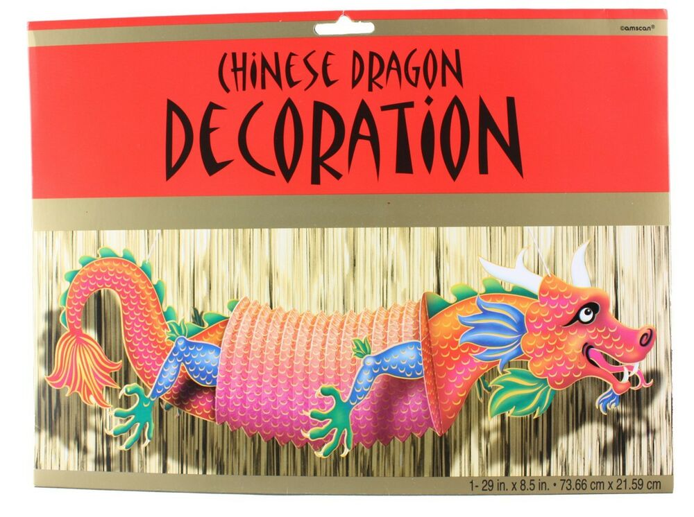 Chinese New Year Chinese Dragon Hanging Asian Party Decor ...
