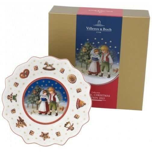villeroy boch toy 39 s delight annual christmas small bowl 2013 ebay. Black Bedroom Furniture Sets. Home Design Ideas
