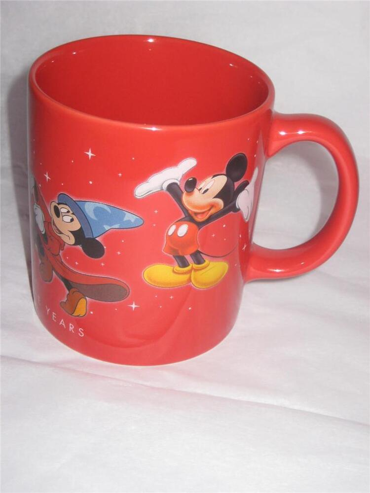 Walt disney store mickey mouse through the years cup mug brand new ebay - Disney store mickey mouse ...