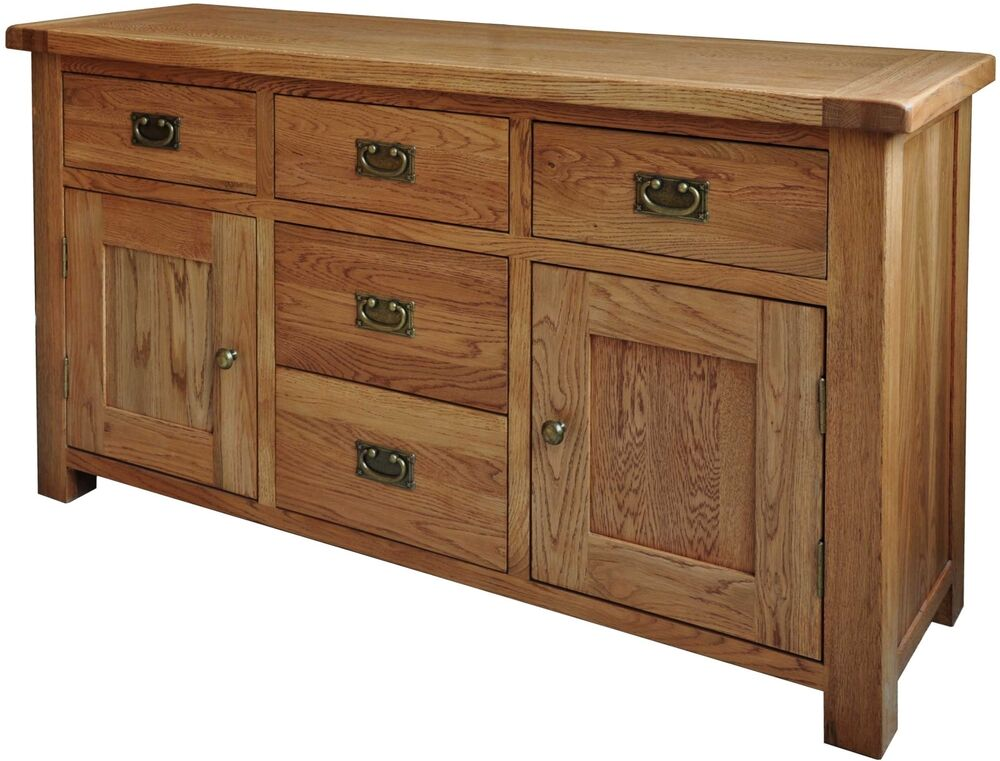 pendle solid oak furniture large dining living room sideboard ebay