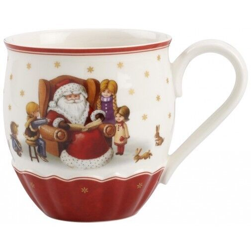 villeroy boch toy 39 s delight jumbo mug santa design ebay. Black Bedroom Furniture Sets. Home Design Ideas