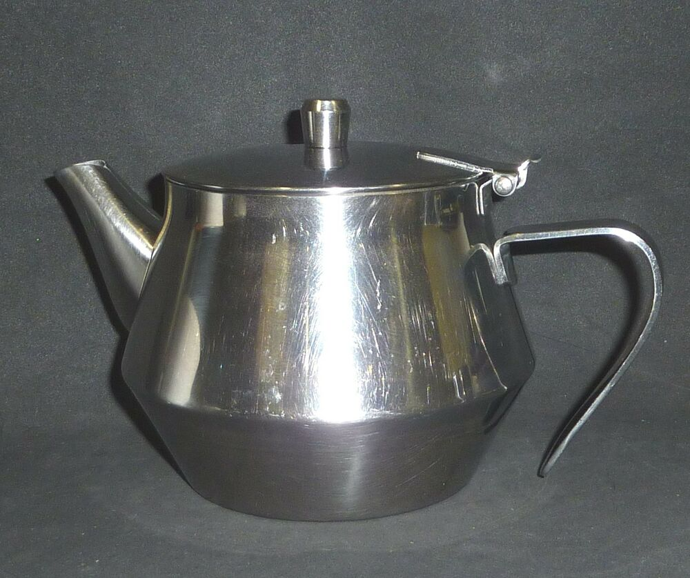 Stainless steel teapot tea pot 4 5 cups ebay - Cup stainless steel teapot ...