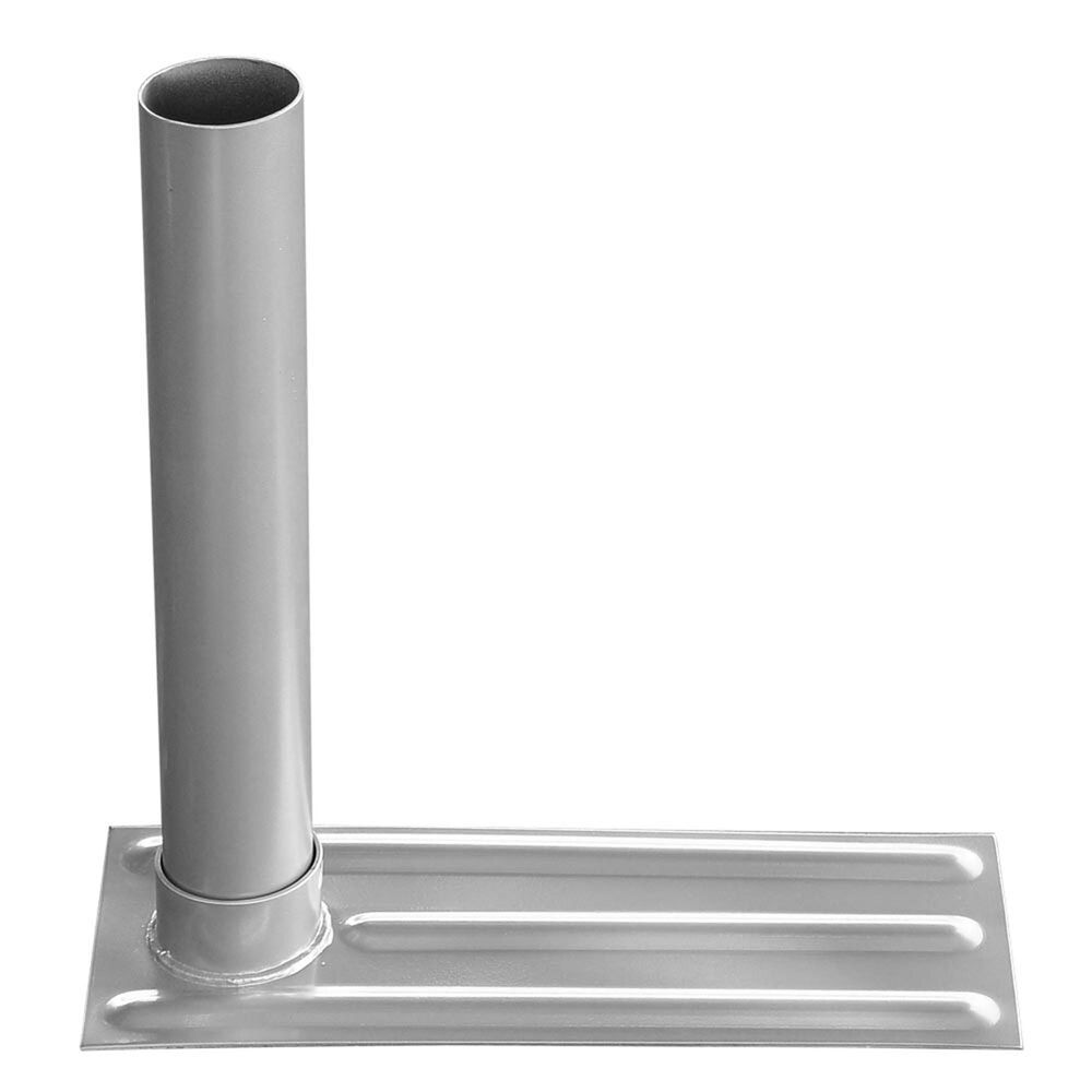 2 4 D Metal Tire Mount Tailgate Wheel Stand Flag Pole