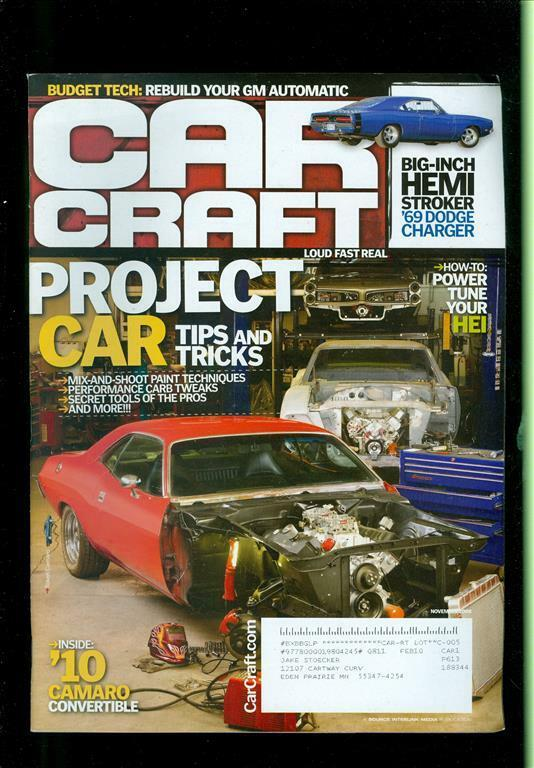 2008 car craft magazine project car tips and tricks hemi for Car craft magazine back issues