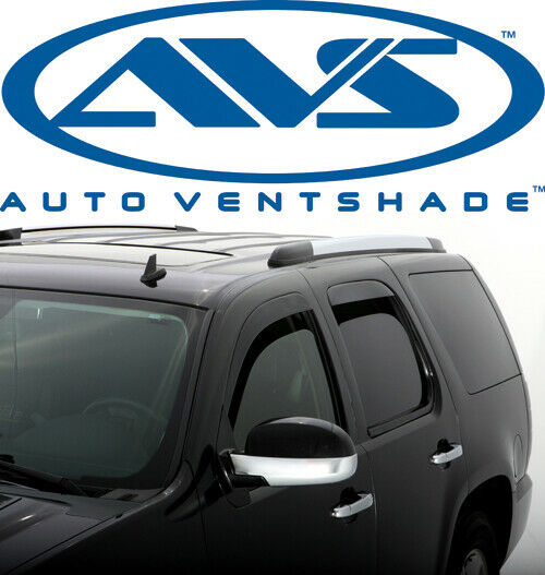 Used Cadillac Escalade Parts For Sale: AVS 894004 Low-Profile Window Ventvisor 4-Piece 07-10 Cadillac Escalade Ext Esv