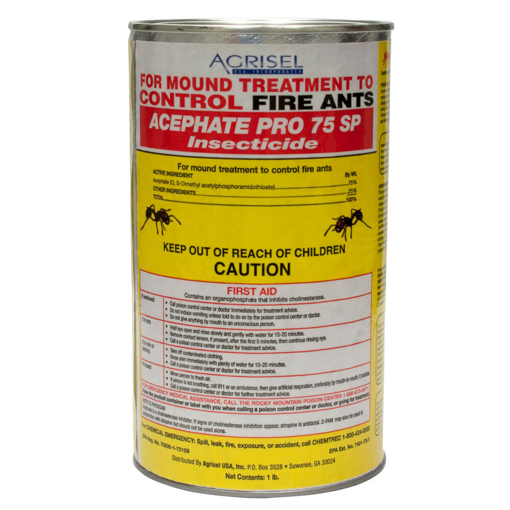 fire ant killer fire ant control acephate pro 75 sp fire ant mound treatment ebay. Black Bedroom Furniture Sets. Home Design Ideas