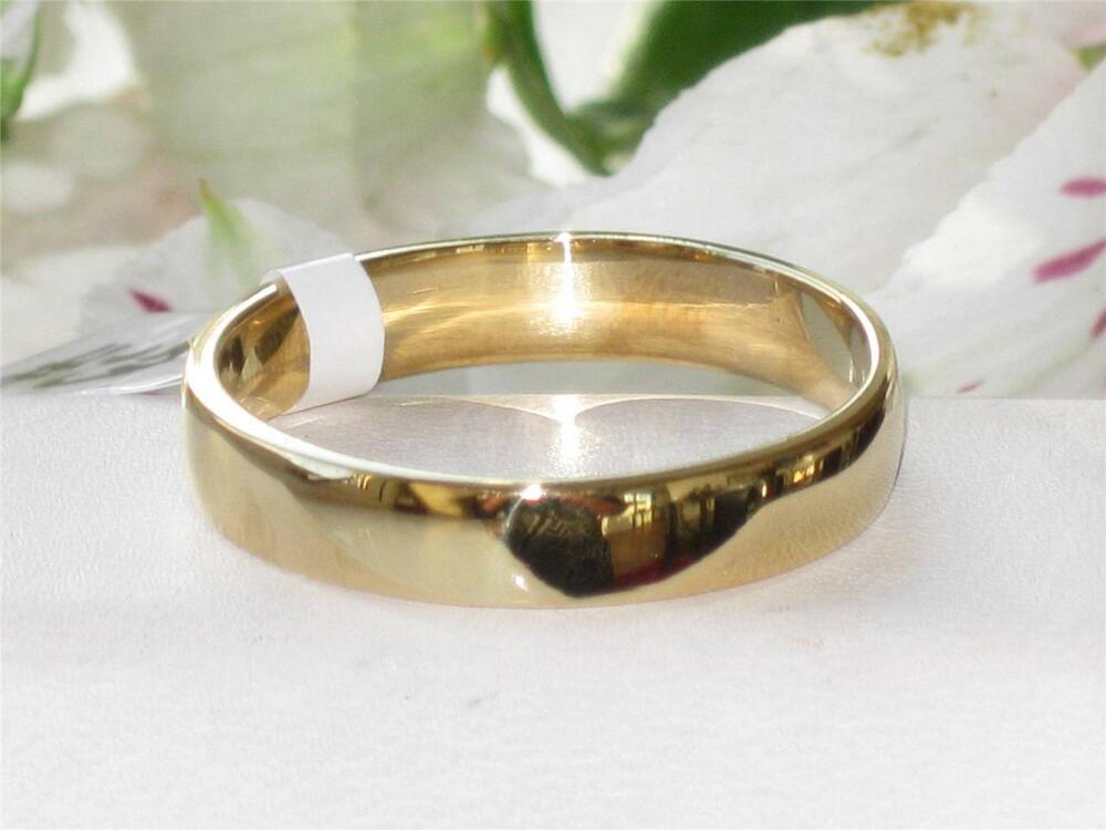 K1375 MENS OR WOMENS 18KT STEEL PLAIN WEDDING RING BAND WIDE 6MM ALL SIZES TH