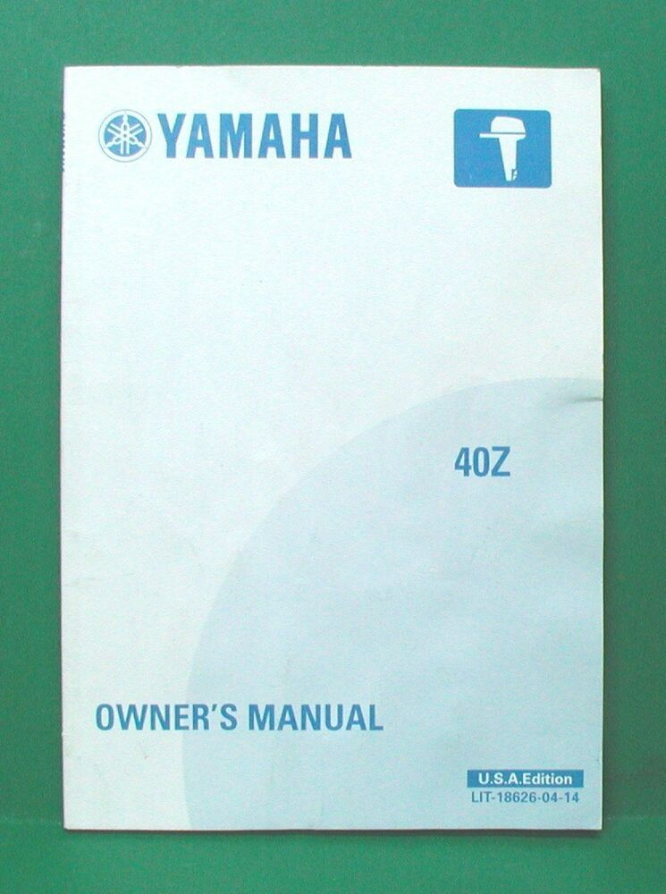 Yamaha  Hp Outboard Owners Manual