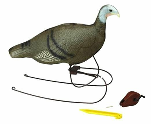 Feeding hen turkey decoy w realistic motion device 71710 ebay