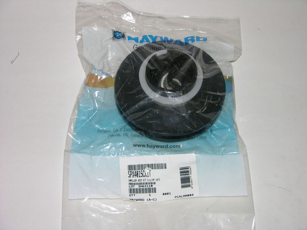Hayward northstar swimming pool pump impeller kit - Hayward swimming pool ...
