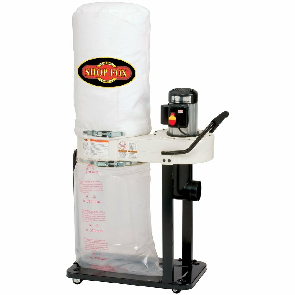 Shop Fox W1727 1 Hp Dust Collection Vacuum System Ebay