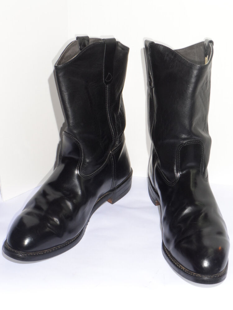 On 11 quot motorcycle boots vibram soles union made in usa 13 ee ebay