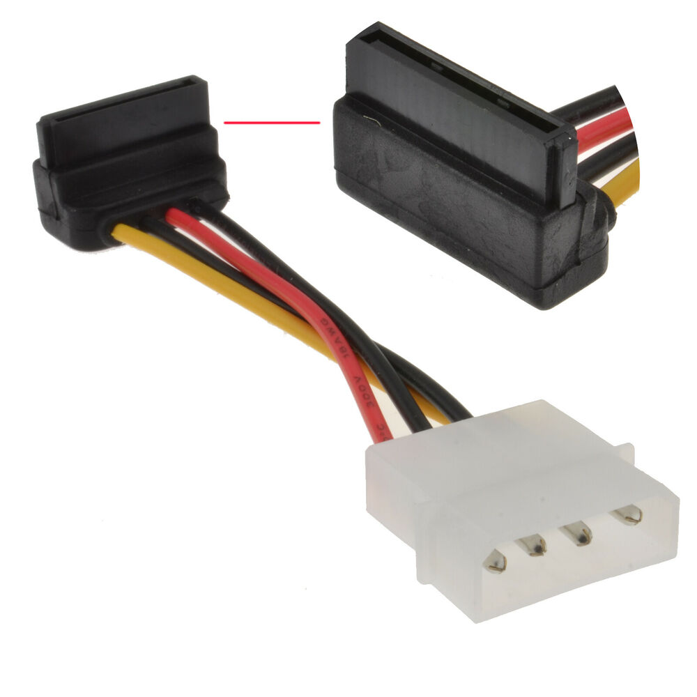 how to connect sata power cable