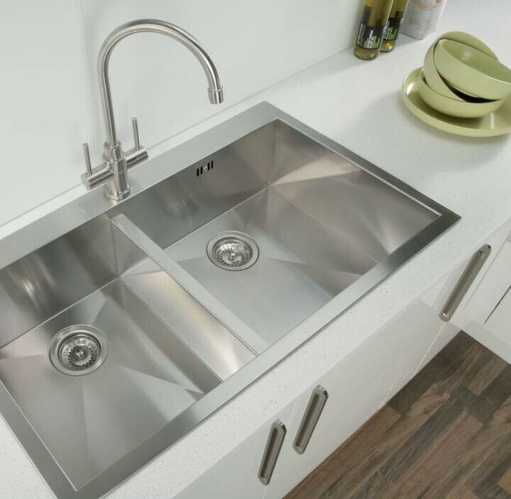 Square Inset Kitchen Sink