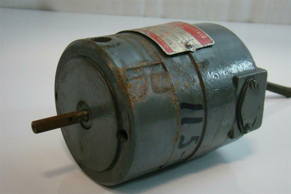 General Electric Dc Motor 1 2hp 250v 35amps 1725rpm 5bc26ac313 Ebay