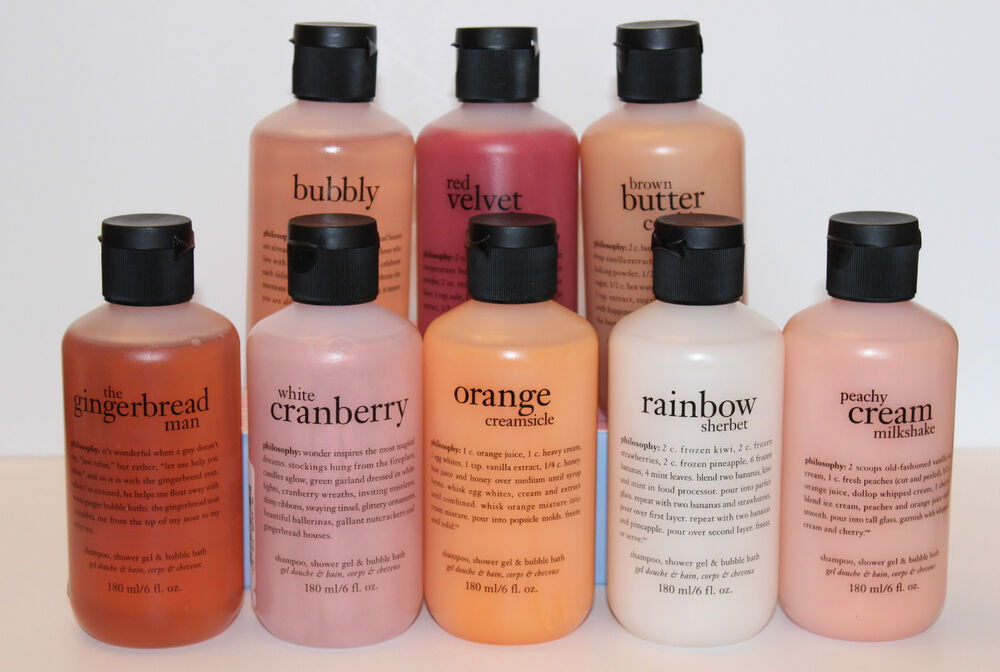 Philosophy Shampoo Shower Gel Amp Bubble Bath Choose One