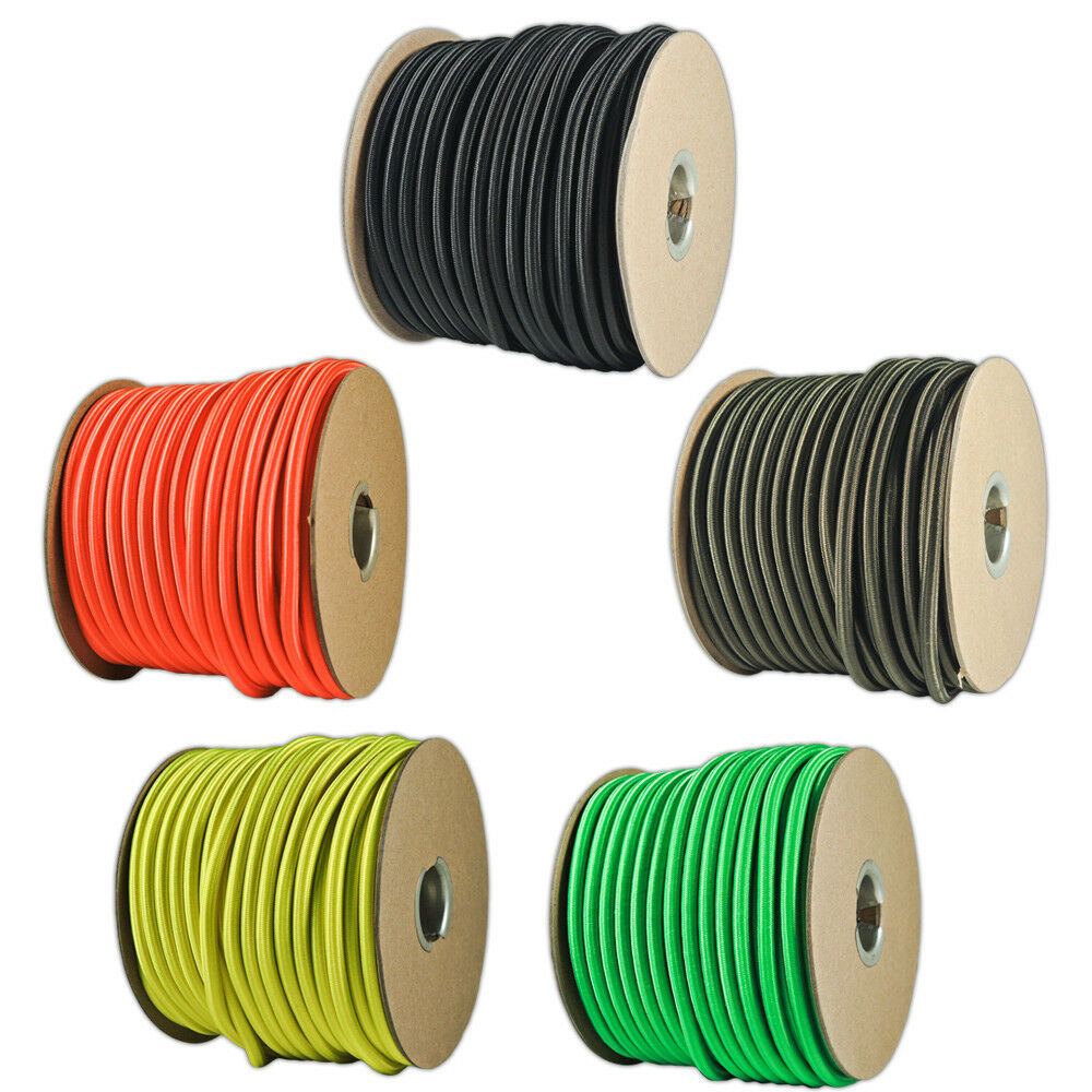 Bungee cord shock stretch nylon bungie line 1 4 for Liner diametre 4 50