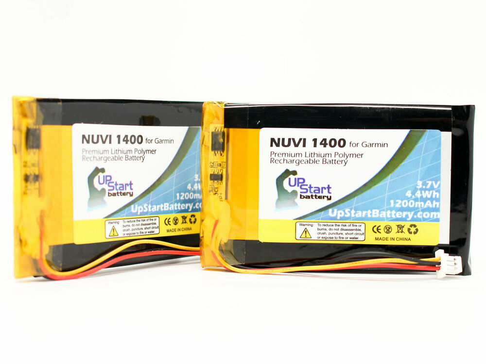 2x replacement battery for garmin nuvi 1450 1490t nuvi. Black Bedroom Furniture Sets. Home Design Ideas