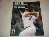 Manual ONLY for MLB 07 : The Show - PS3 Playstation 3 game Instruction Booklet E