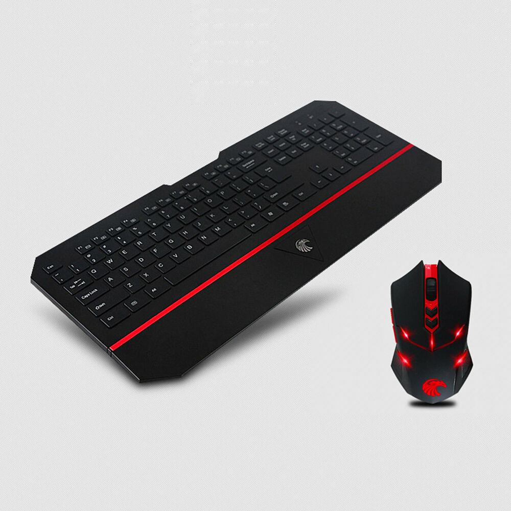 e780 2 4g wireless multimedia gaming keyboard and mouse combo set for pc laptop ebay. Black Bedroom Furniture Sets. Home Design Ideas