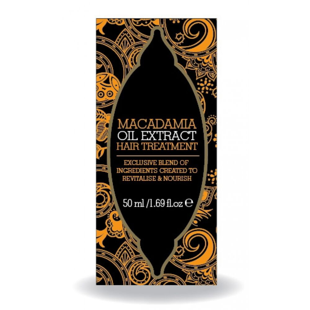 Macadamia Natural Oil Treatment Ingredients