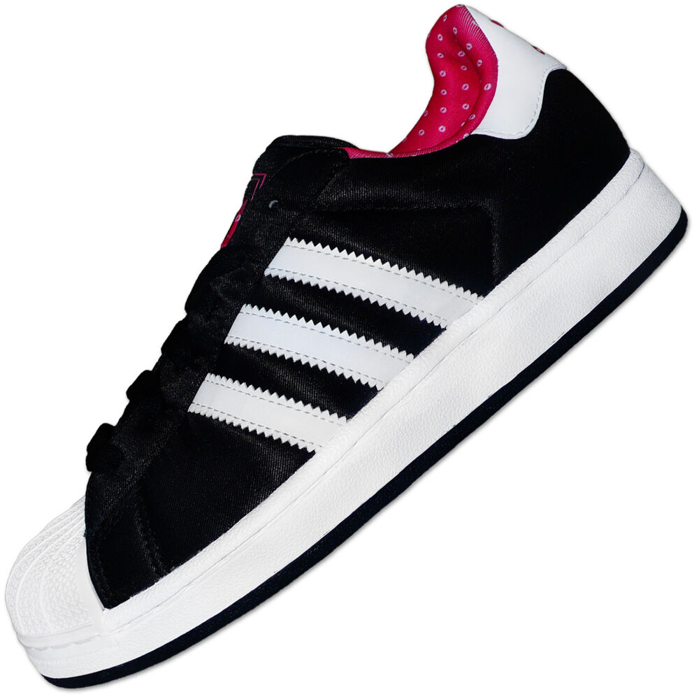 adidas originals superstar 2 ii w damen sneaker schuhe schwarz weiss. Black Bedroom Furniture Sets. Home Design Ideas