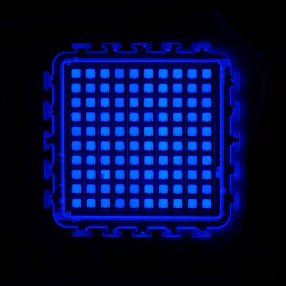 100w 100watt 45mil chips blue high power led smd panel light 5000lm integrated ebay. Black Bedroom Furniture Sets. Home Design Ideas