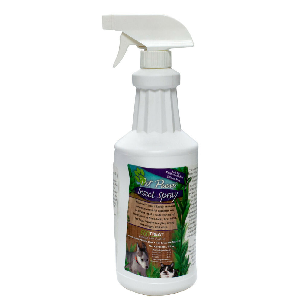 Flea Killer Natural Spray For Cats