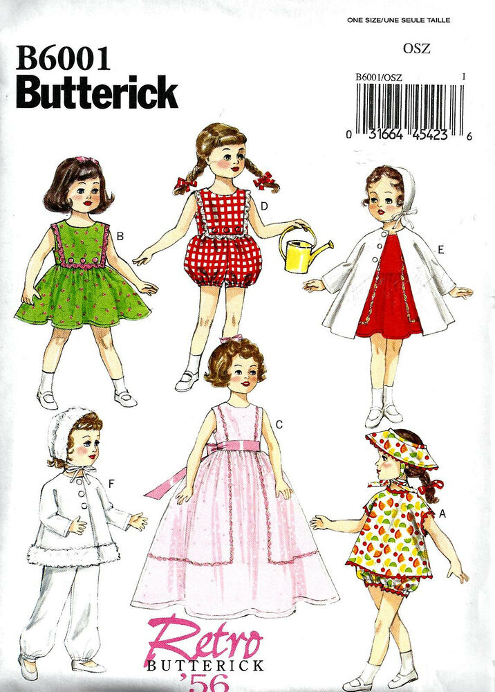 Sewing Pattern Make Vintage Style Doll Clothes Fit American Girl Shirley Temple Ebay