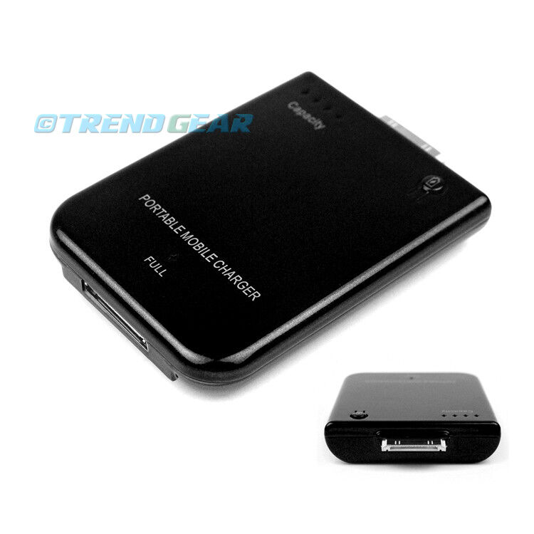 iphone 3 charger 2800mah portable external black battery mobile charger 10826