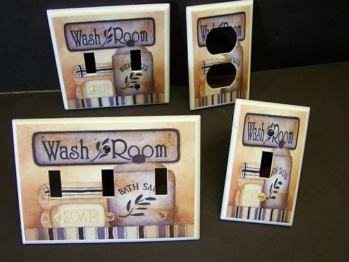 BATHROOM SPA 1 LIGHT SWITCH OR OUTLET COVER EBay