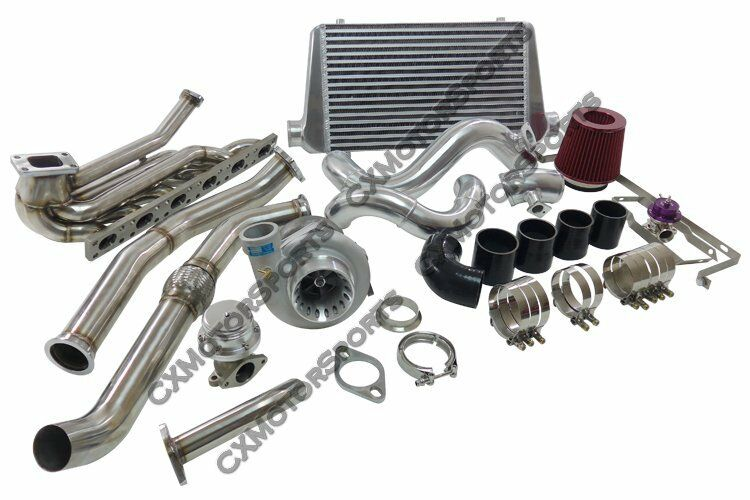 gt35 turbo kit for 1992 1998 bmw e36 6 cyl manifold