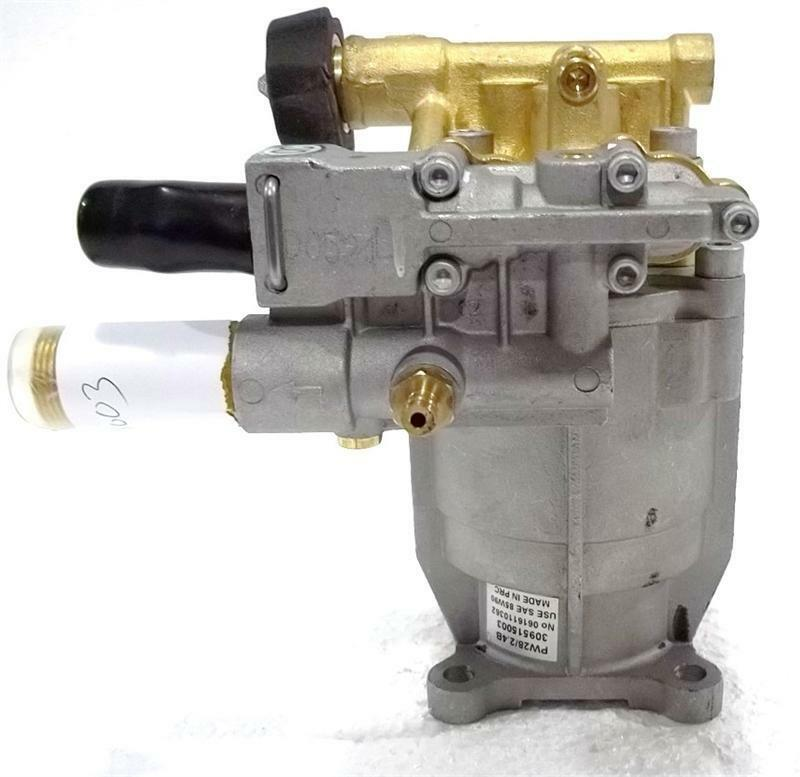 Pressure Washer Horizontal Replacement Pump 3000psi 2.5gpm ...