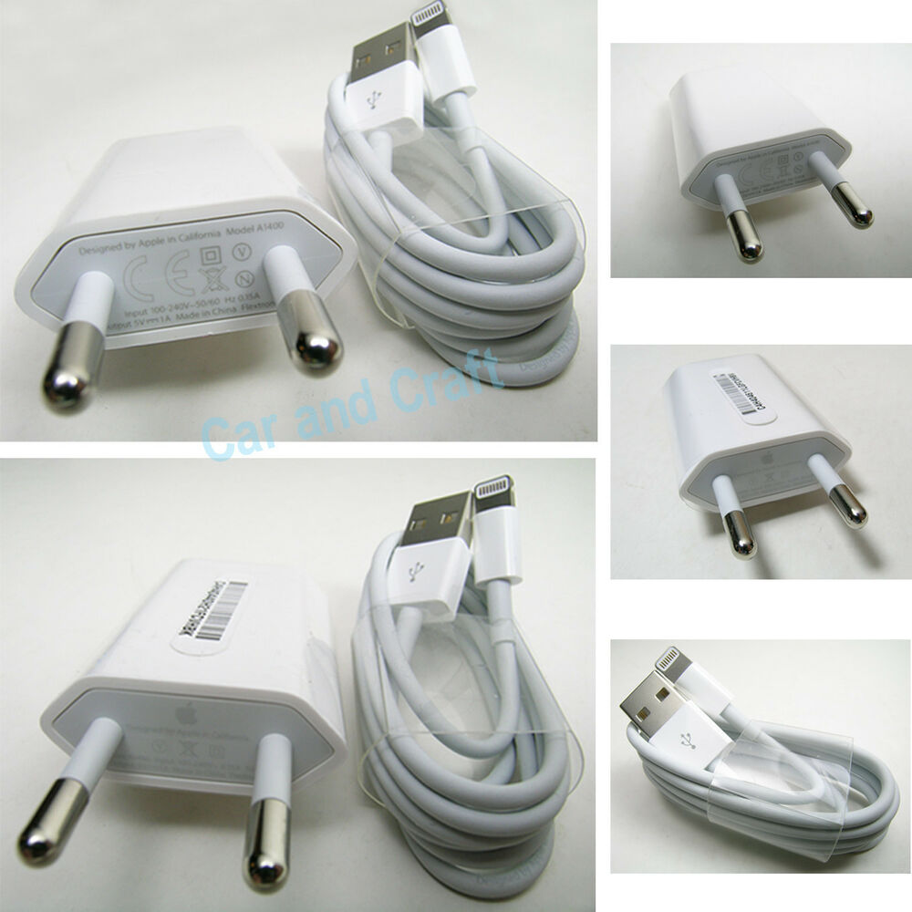 iphone 6 charger genuine apple iphone 6 5 5c 4 eu charger adapter a1400 11305