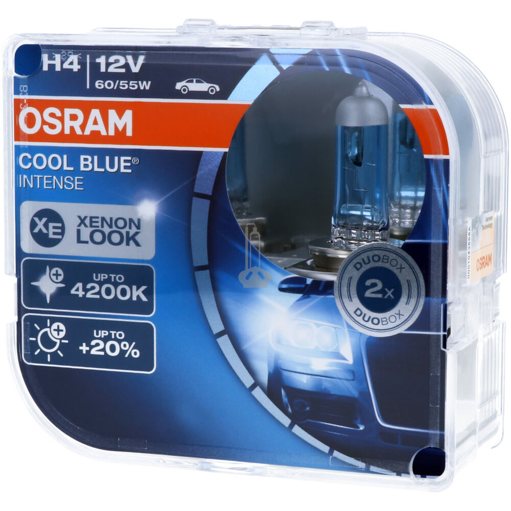h4 osram cool blue intense scheinwerfer lampe duo box neu ebay. Black Bedroom Furniture Sets. Home Design Ideas