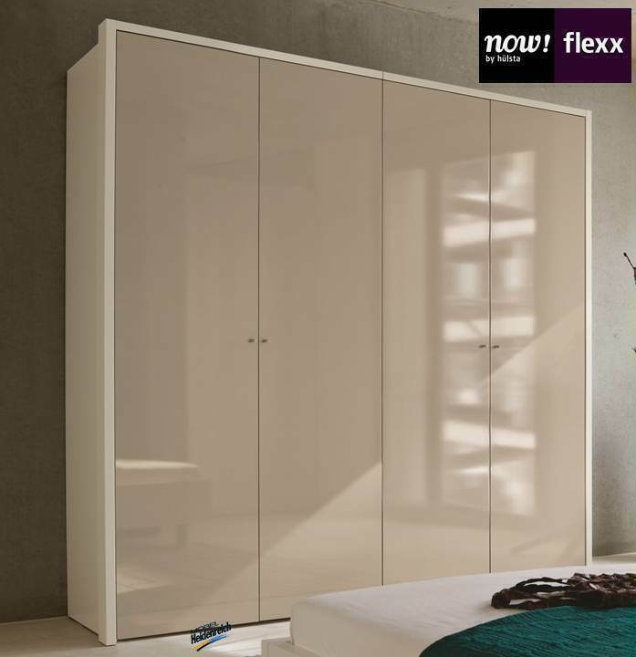 now by h lsta flexx kleiderschrank 4 t rig neu ebay. Black Bedroom Furniture Sets. Home Design Ideas