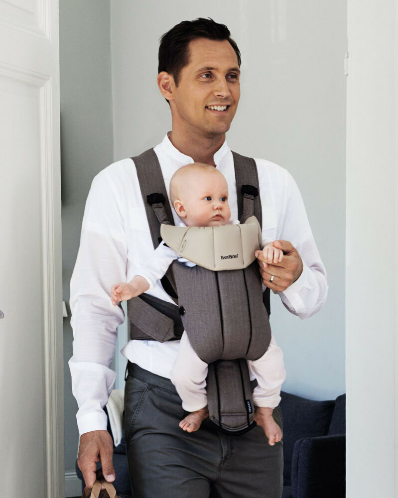 baby bjorn baby active organic carrier in walnut khaki. Black Bedroom Furniture Sets. Home Design Ideas