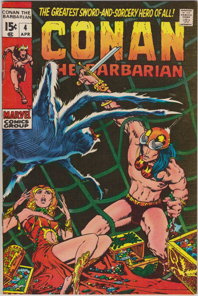 C >> Conan The Barbarian 4 Barry Widsor Smith Art - HIGH GRADE RARE Key Comic book | eBay