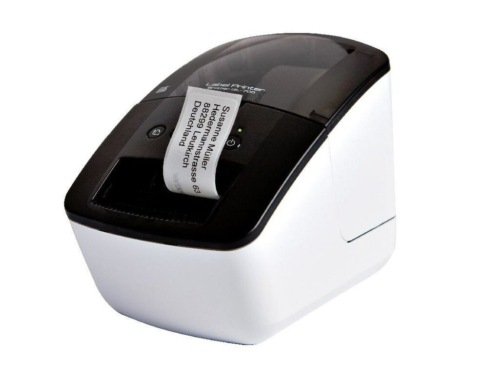 brother p touch ql 700 thermal address label printer. Black Bedroom Furniture Sets. Home Design Ideas