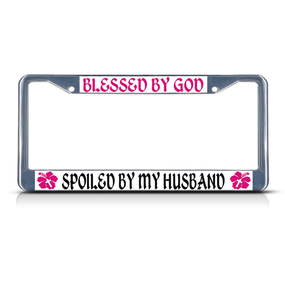 BLESSED BY GOD SPOILED BY MY HUSBAND RELIGIOUS CHRIST
