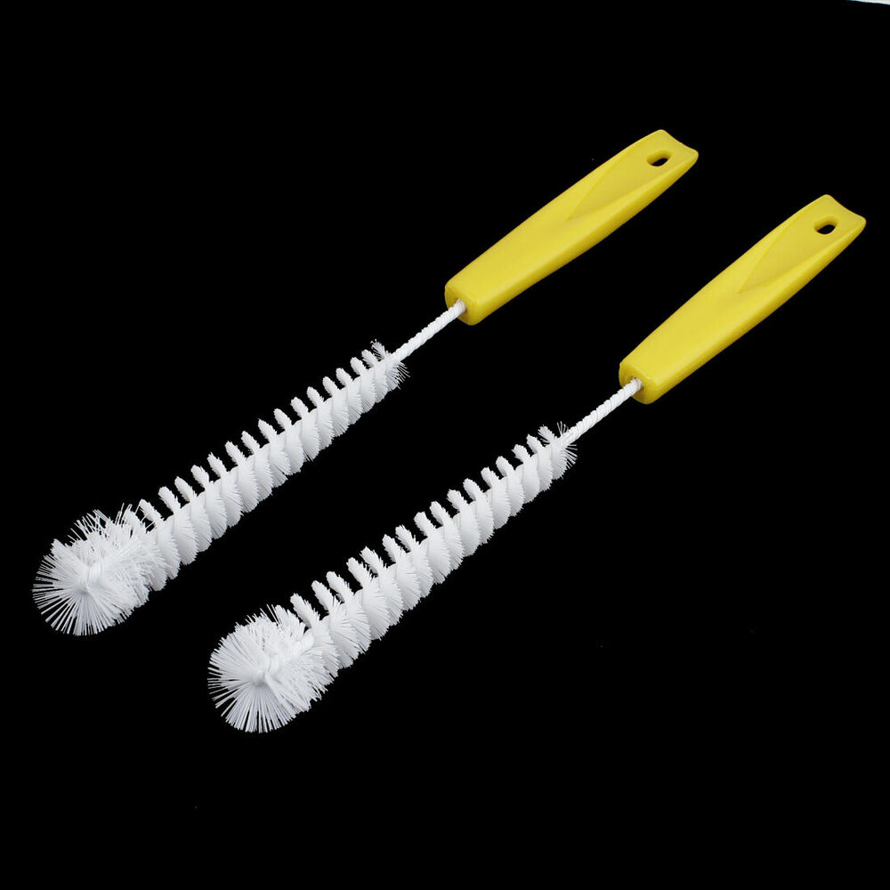 car clear tool yellow handle wheel tire rim washing brush cleaner set 2 pcs ebay. Black Bedroom Furniture Sets. Home Design Ideas
