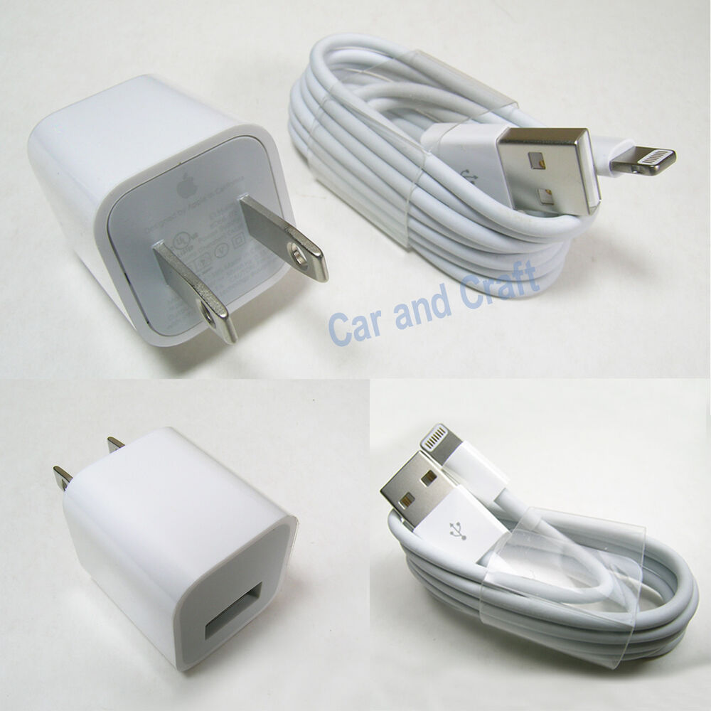 genuine apple iphone 6 5 5c 4s us ipod charger adapter. Black Bedroom Furniture Sets. Home Design Ideas